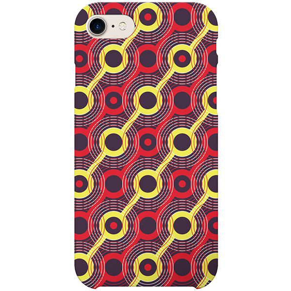heat iphone case by ayok'a