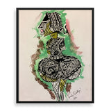 idi araba framed art print by tunde omotoye