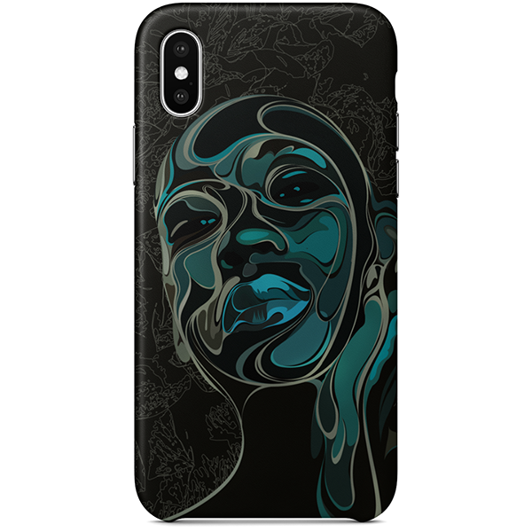Janay iPhone X case by African artist Emmanuel Mdlalose
