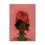 kooky black art print by Fefus Designs
