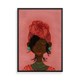 kooky black art framed print by Fefus Designs