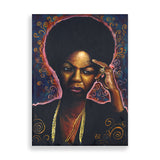 nina art print by african-american artist marcus kwame