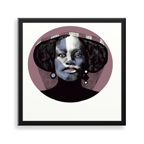 Nini framed art print