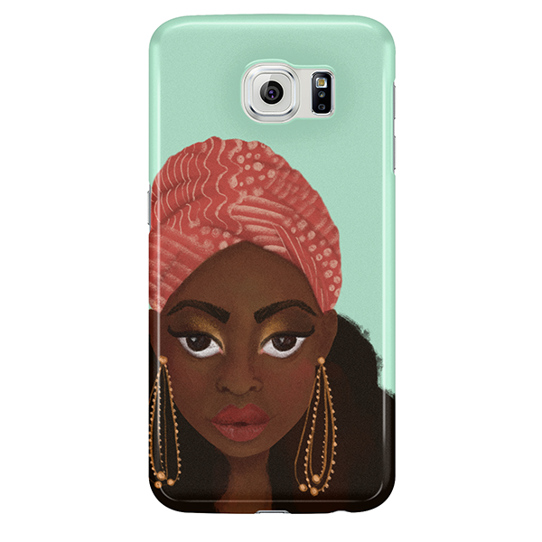 nubian diva samsung case by fefus designs