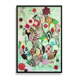 la nymphe framed art print by delphine alphonse