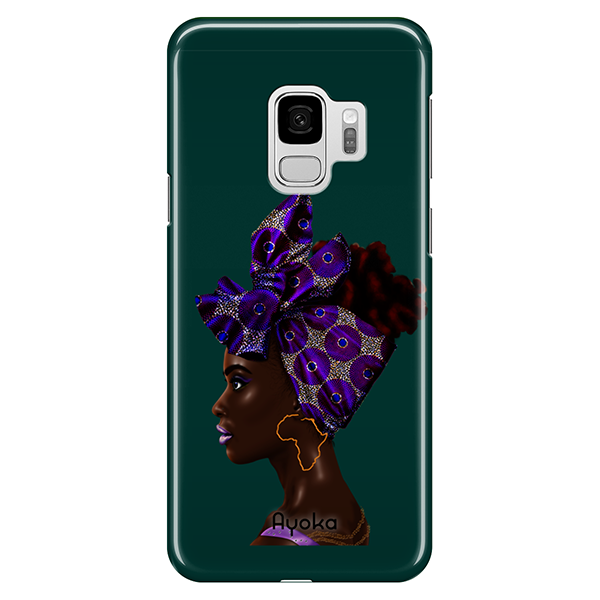Purple Headwrap Samsung case