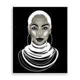 sade art print by south-african artist emmanuel mdlalose