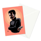 shaft greeting card by marcus kwame
