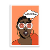 supa dupa fly art print by black-british artist nyanza d
