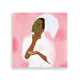 self-love art print by black-british artist parys gardener