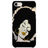 Afro Lady iPhone case by  Nigerian artist Tunde Omotoye