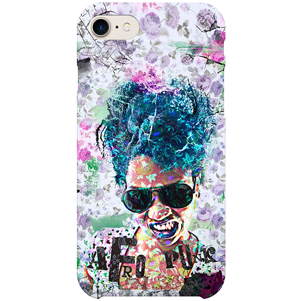 Afropunk iPhone Case by Delphine Alphonse