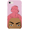 asha iPhone case by black-british artist nyanza d