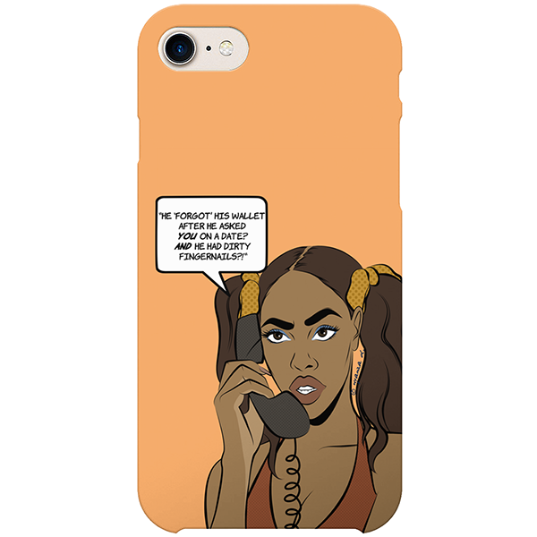 avoid like the plague iPhone case by nyanza d