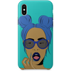 iPhone x case by black-british artist nyanza d