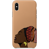 basking in the light iPhone case by nyanza d