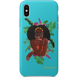 Belte iPhone X Case by Rahana Banana
