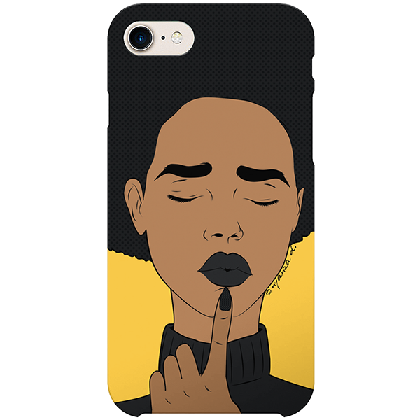 deborah iPhone case by nyanza d