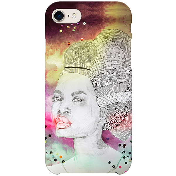 Duchesse creole iPhone Case by Delphine Alphonse