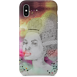 Duchesse creole iPhone X Case by Delphine Alphonse
