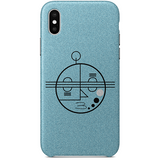 Face 3 iPhone X Case by TEDA