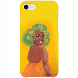 fleur iphone case by black-british artist rahana banana