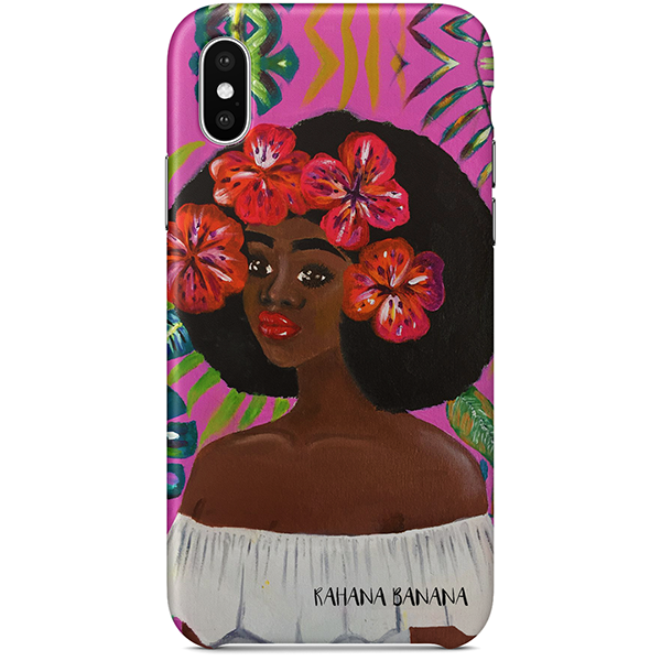 Flower Child iPhone X Case by Rahana Banana