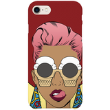 ice-cream shades iPhone case by black-british artist nyanza d