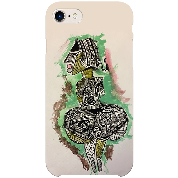 Idi Araba iPhone case by Tunde Omotoye