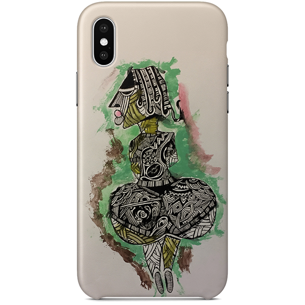 Idi Araba iPhone X case by Tunde Omotoye