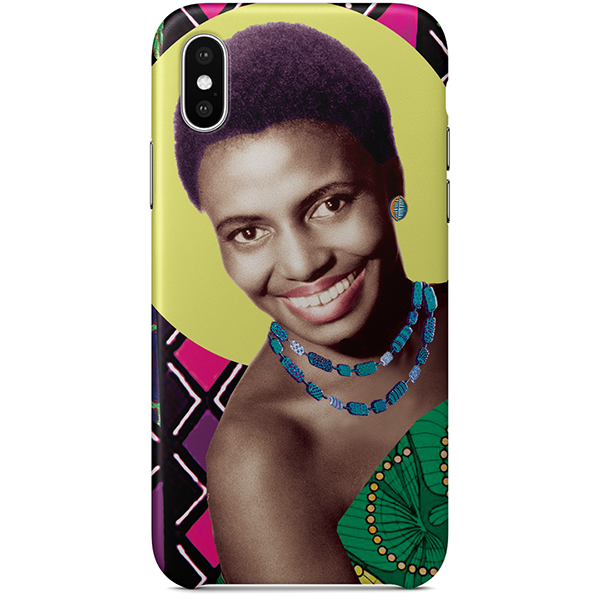 mama africa iPhone x case by natasha lisa