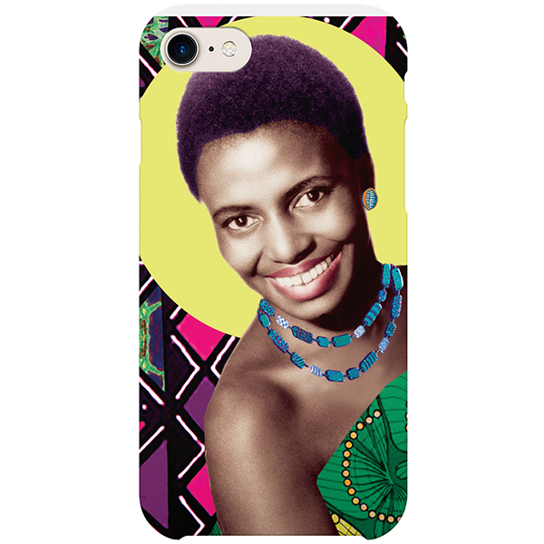 mama africa iPhone case by natasha lisa
