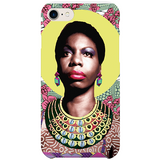 nina simone iPhone case by  black-british artist natasha lisa