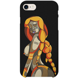 Nude Female iPhone Case by TEDA