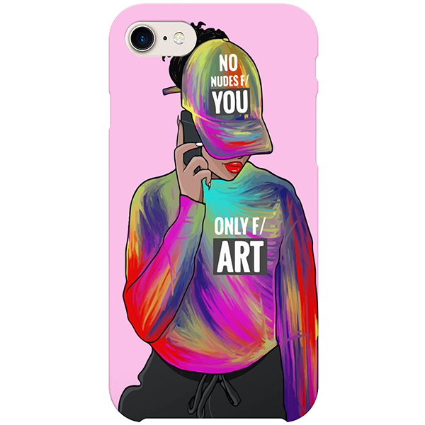 only for art iPhone x case by artista amarela