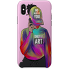 only for art iPhone case by artista amarela