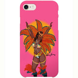playing mas iPhone case by black-british artist rahana banana