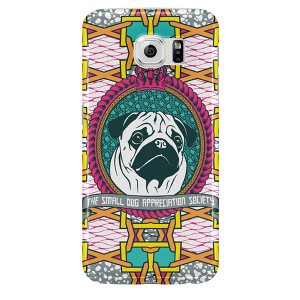 pug samsung case by natasha lisa