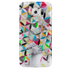 Afro rosaces iPhone Case by Delphine Alphonse