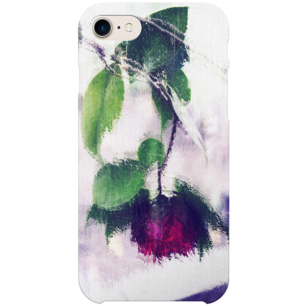 Gothic Italian Rose iPhone Case by The Reclusive Blogger