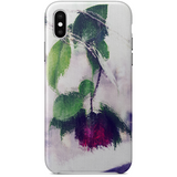Gothic Italian Rose iPhone X Case by The Reclusive Blogger