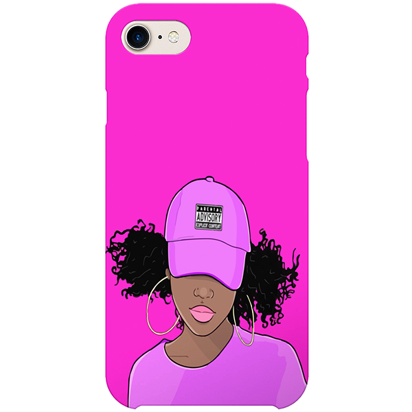 speeding iPhone case by african illustrator artista amarela