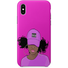 speeding iPhone x case by african illustrator artista amarela