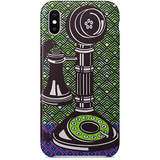 Phone iPhone x case by black-british artist natasha lisa