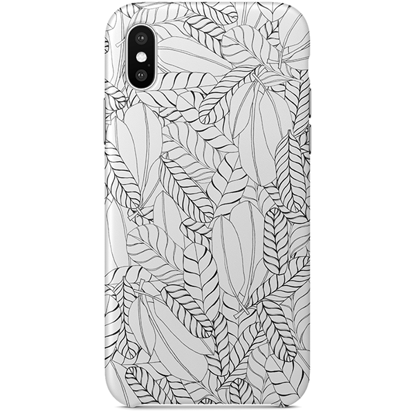 Untitled VIII iPhone X Case by Josephine Kibuka