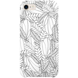 Untitled VIII iPhone Case by Josephine Kibuka