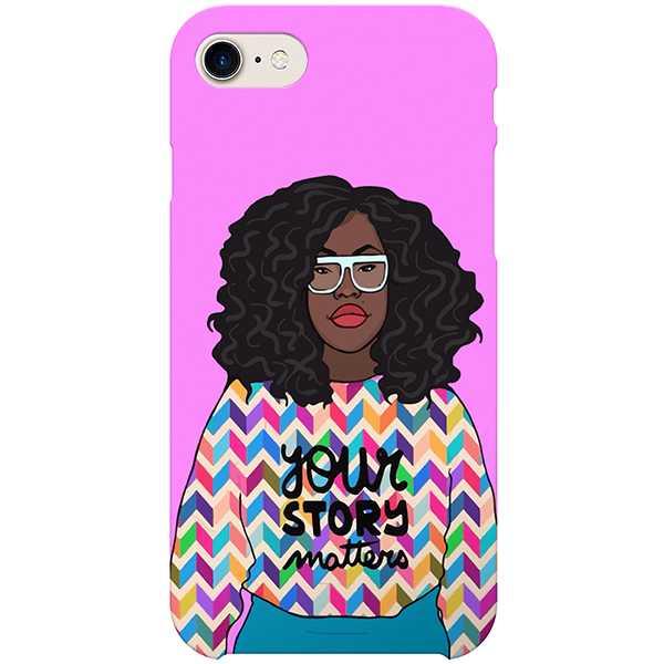 ysm iPhone case by artista amarela
