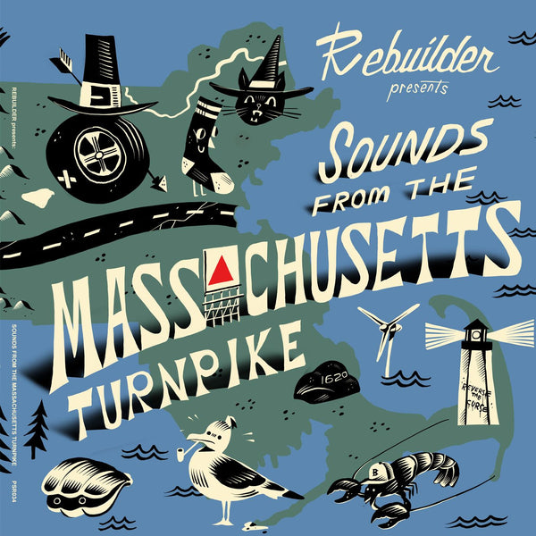 "Rebuilder - Sounds from the Mass Turnpike 10"" EP"