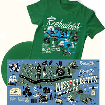 Rebuilder - LP and Shirt Bundle