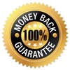 100% Money Back Guarantee Logo